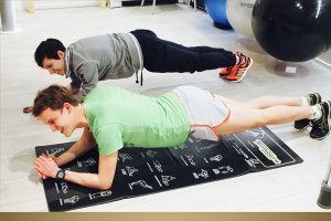 allenamento plank
